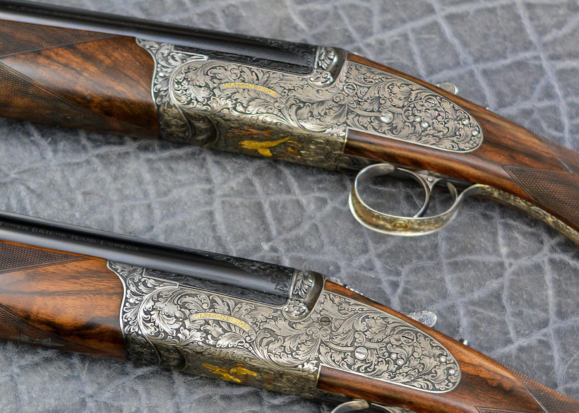 Pair of 12 bore over and under for sale