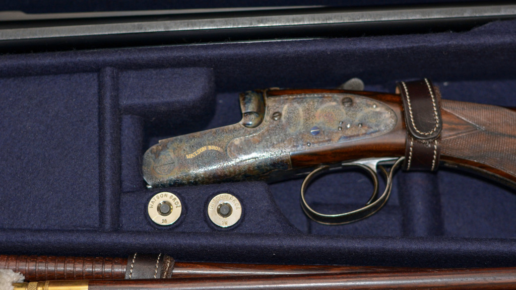 Watson Bros 20 Bore with Extra Barrels