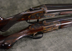 pre owned pair of Boss & Co 20 bore side by side for sale