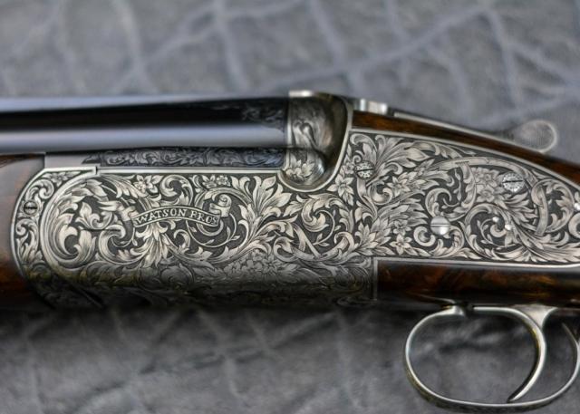 Edwardian Gun Engraving Pattern