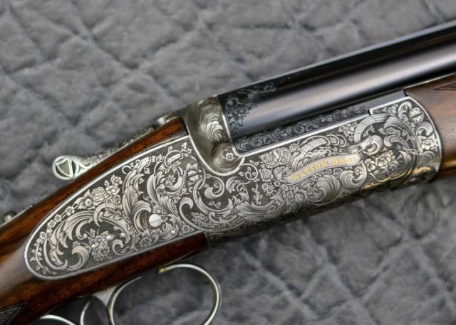 Elizabethan Gun Engraving Pattern