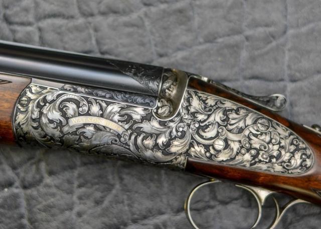 Midnight Forest Gun Engraving Pattern