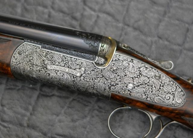 Paisley Gun Engraving Pattern