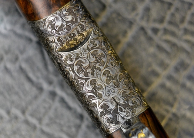Victoriana Bold Gun Engraving Pattern