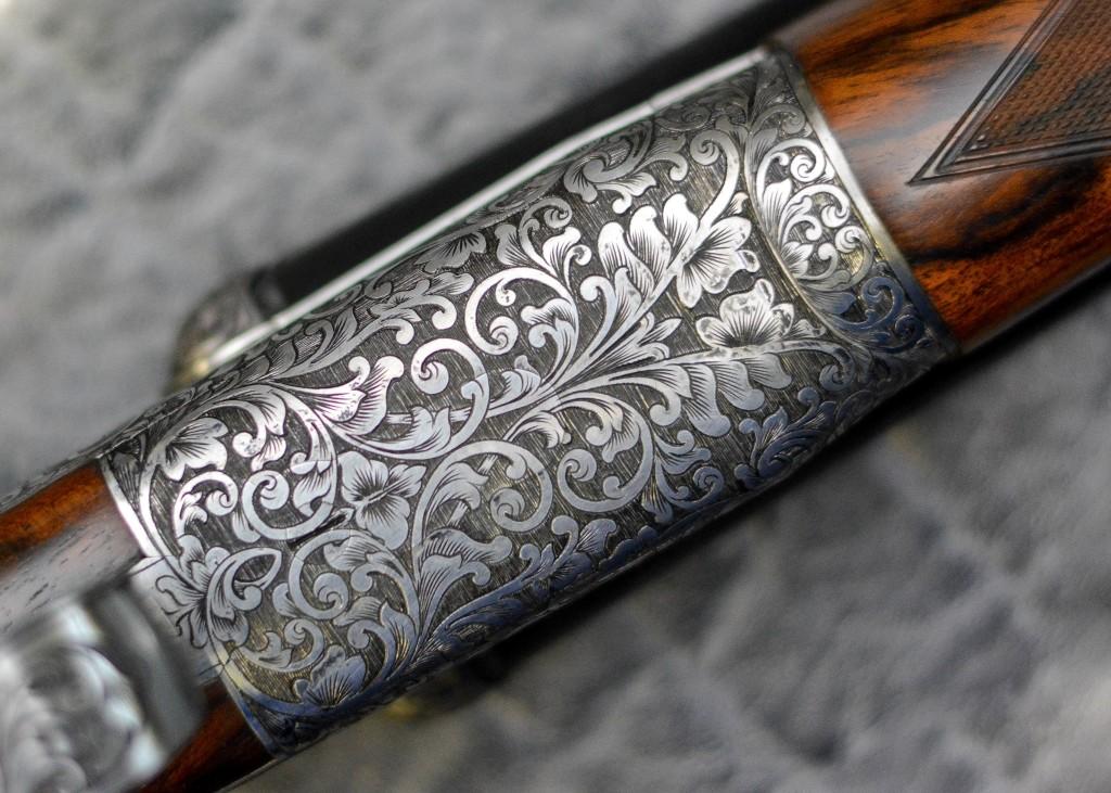 Victoriana Gun Engraving Pattern